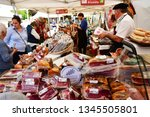 rambouillet  france   november... | Shutterstock . vector #1345505801