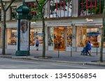 paris  france   april 2 2017  ... | Shutterstock . vector #1345506854