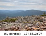 beautiful views from the top of ... | Shutterstock . vector #1345513607