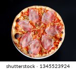 top view of delicious italian... | Shutterstock . vector #1345523924