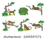 vector illustrations set of...   Shutterstock .eps vector #1345547171