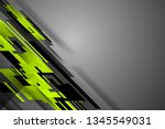 green color abstract background ... | Shutterstock .eps vector #1345549031