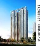 buildings made in 3d | Shutterstock . vector #134556761