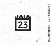 calendar  data  vector best... | Shutterstock .eps vector #1345568087