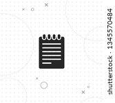 list  checklist  vector best... | Shutterstock .eps vector #1345570484