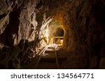 Inside An Abandoned Mine In Th...