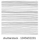 hand drawn abstract pattern...   Shutterstock .eps vector #1345652231