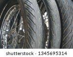 motorcycle wheel alloy | Shutterstock . vector #1345695314
