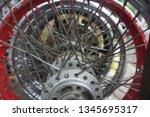 motorcycle wheel alloy | Shutterstock . vector #1345695317
