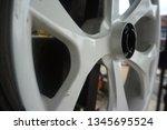 motorcycle wheel alloy | Shutterstock . vector #1345695524