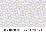 curved line in triangles style. ... | Shutterstock .eps vector #1345746401
