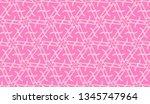 vector seamless illustration... | Shutterstock .eps vector #1345747964