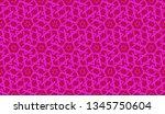 vector seamless illustration... | Shutterstock .eps vector #1345750604