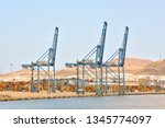 editorial picture of the port... | Shutterstock . vector #1345774097