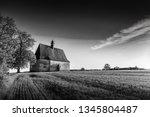 dobronice u bechyne  czech... | Shutterstock . vector #1345804487