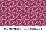 vector seamless illustration... | Shutterstock .eps vector #1345806281