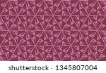 pattern with abstract illusion... | Shutterstock .eps vector #1345807004