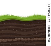 layers of grass with...   Shutterstock .eps vector #1345936364