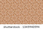 pattern with abstract illusion... | Shutterstock .eps vector #1345940594