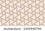 vector seamless illustration... | Shutterstock .eps vector #1345940744