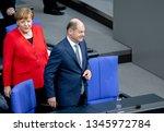 berlin  germany  2019 03 21 ...   Shutterstock . vector #1345972784