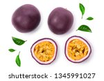 Two Whole Passion Fruits And A...