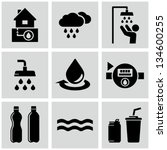black,bottle,can drink,cloud,design,drink,drop,droplets,efficient,element,graphic,house,icons,illustration,pictogram