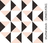 triangles background. vector... | Shutterstock .eps vector #1346014361