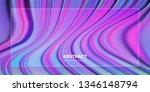 liquid color background design. ... | Shutterstock .eps vector #1346148794