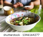 close up suki in without broth  ...   Shutterstock . vector #1346164277