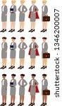 business women set | Shutterstock .eps vector #1346200007