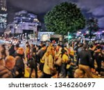 blurred picture of crowd of...   Shutterstock . vector #1346260697