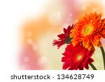 Vibrant Floral Template With...