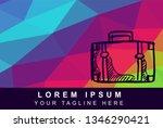 vector illustration rainbow...   Shutterstock .eps vector #1346290421