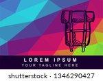 vector illustration rainbow...   Shutterstock .eps vector #1346290427