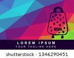 vector illustration rainbow...   Shutterstock .eps vector #1346290451