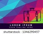 vector illustration rainbow...   Shutterstock .eps vector #1346290457