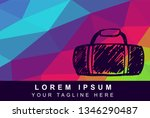 vector illustration rainbow...   Shutterstock .eps vector #1346290487