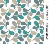 seamless ornament vector pattern | Shutterstock .eps vector #134629484