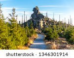 eroded granite rock formation... | Shutterstock . vector #1346301914