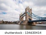 tower bridge london  england | Shutterstock . vector #134630414