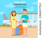 travel agency. organization of...   Shutterstock .eps vector #1346317514