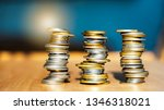 growth money of profitability... | Shutterstock . vector #1346318021
