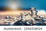 growth money of profitability... | Shutterstock . vector #1346318024