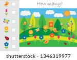 how many counting game with... | Shutterstock .eps vector #1346319977