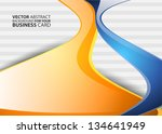abstract business background  ... | Shutterstock .eps vector #134641949