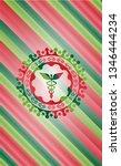 caduceus medical icon inside...   Shutterstock .eps vector #1346444234