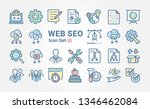 web seo icon collection
