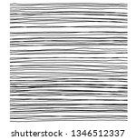 hand drawn abstract pattern... | Shutterstock .eps vector #1346512337