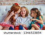 childhood  leisure and family... | Shutterstock . vector #1346523854